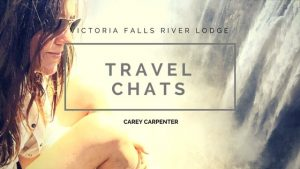 CArey CArpenter on the edge of Victorira Falls waterfalls