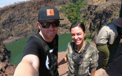 Former Motorcross Champ finds adrenaline and adventure at Victoria Falls