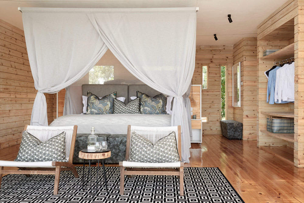 Starbed Treehouse - Interior