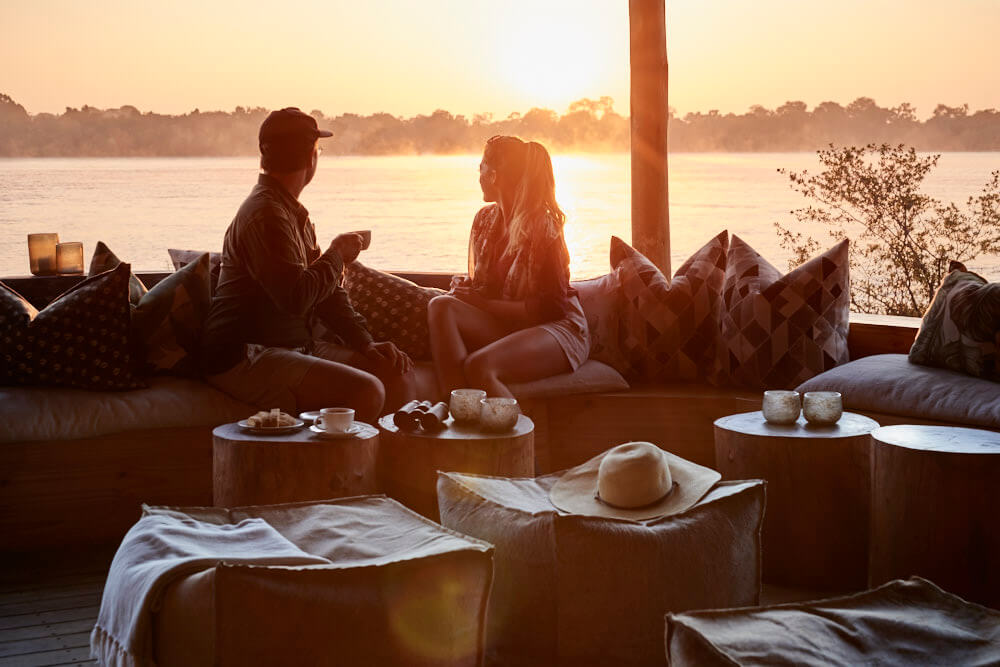 Indulge in a romantic getaway to Victoria Falls